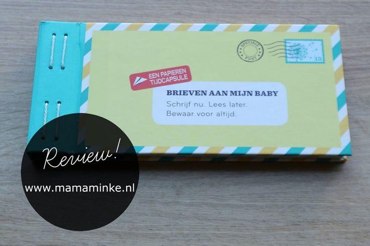 Brieven aan je baby,  onder bloggers komen ze met regelmaat voor. Dit is een leuke papieren versie met sluitstickers,  tijdcapsule en vragen om te beantwoorden. Kijk snel voor de hele review.
