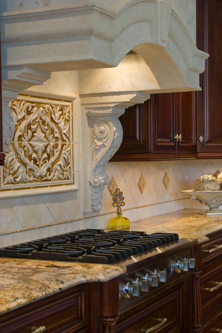 Best Kitchen Gallery: 18 Best Backsplash Images On Pinterest Range Hoods Kitchen Range of Stone Kitchen Hood Style on rachelxblog.com