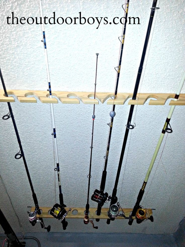 This one is for guys or gals that need a safe place to for Bow fishing rod
