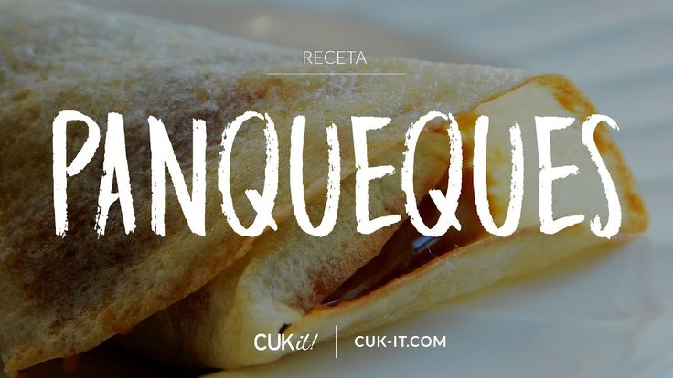 Receta de Panqueques - CUKit!