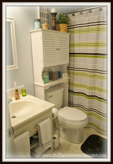 French Bathroom Cabinets Over Toilet   Bath facelift  See More  Thrifty  Decor Mom  Teen Shared Bath Reveal   Using What You Have  9 best Bathroom Organization images on Pinterest   Bathroom  . Bathroom Cabinet Over Toilet Bed Bath And Beyond. Home Design Ideas