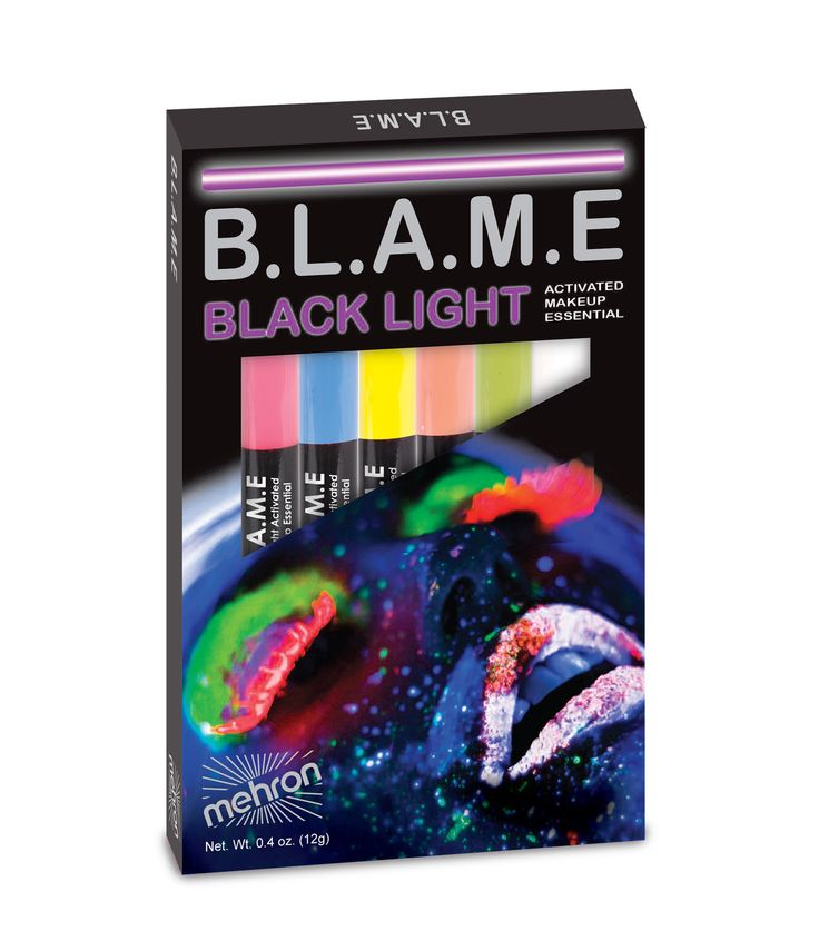 BLAME Pens Black Light Activated Liquid Makeup