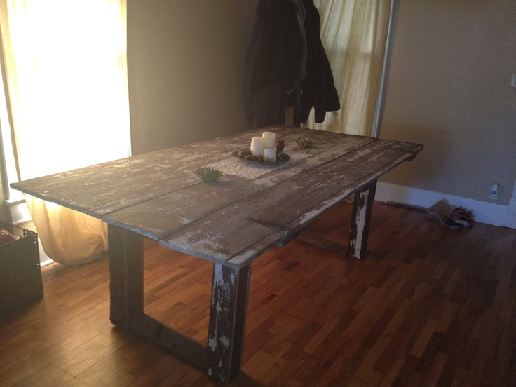 1000 Images About Barn Door Table On Pinterest Sewing Machines Barn Sidin