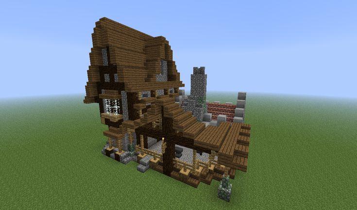 How Do Build A Blacksmiths Shop In Minecraft