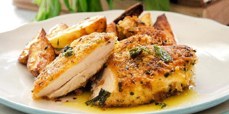 Kyllingsnitsel/breaded chicken