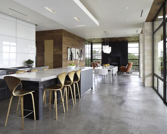Spaces Concrete Floor Design, Pictures, Remodel, Decor and Ideas - page 4