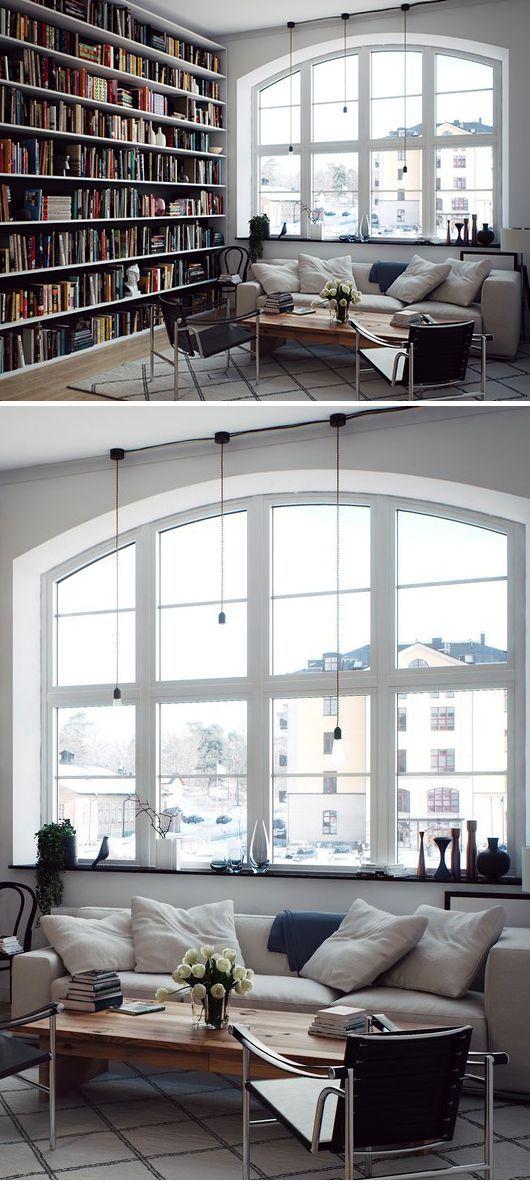 Hemnetgodis Rindö Hamn (Trendenser) | Living Rooms, Libraries and Window