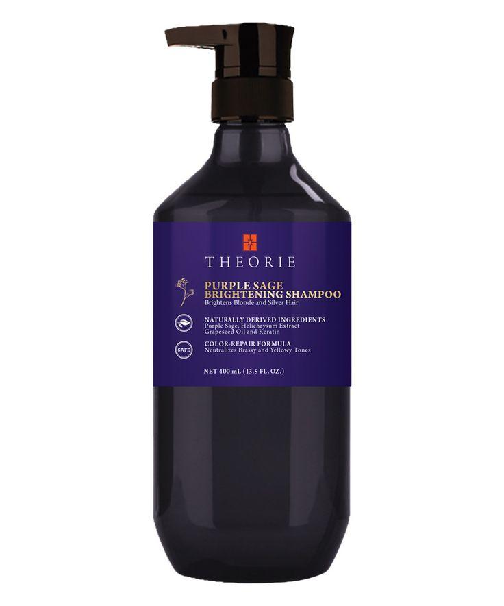 Look what I found on #zulily! Theorie 13.5-Oz. Purple Sage Brightening Shampoo by Theorie #zulilyfinds