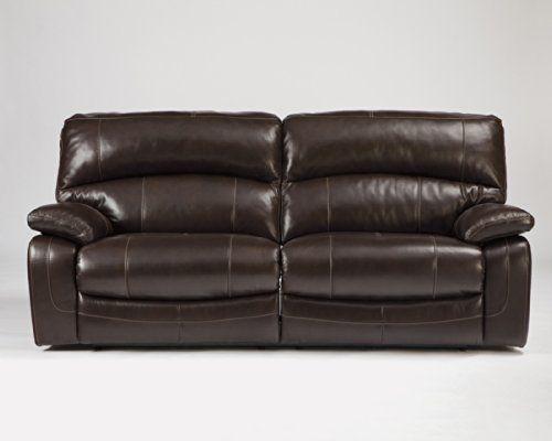 Ashley Furniture Signature Design Damacio Manual Recliner Sofa
