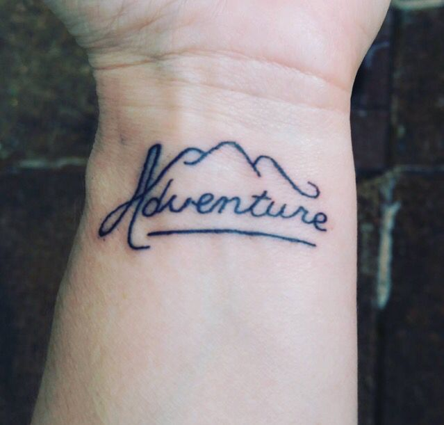 Write Strength or Faith instead of Adventure large cross on Ts