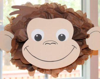 Lion pom pom kit king of the jungle safari by TheLittlePartyShopNY