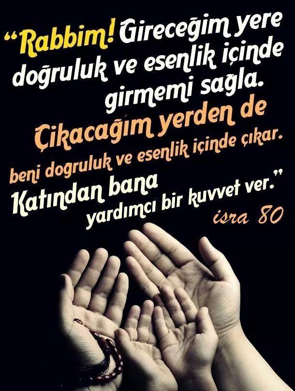 Bir dua..