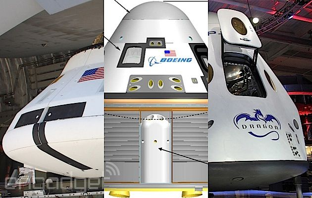 Waiting for a space taxi? It looks like it might show up a little late. Of course, it's only NASA astronauts currently in line for one of the agency's