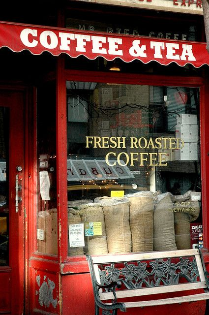 Red Coffee and Tea Shop New York City  