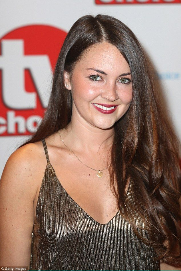 Lacey Turner scoops up Best Soap Actress as at the TV Choice Awards