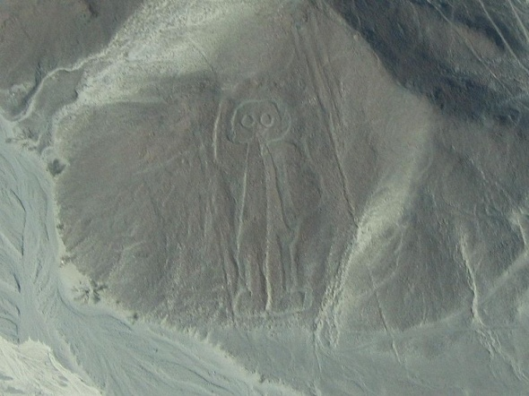 Nasca Land Markings: Ancient Astronaut, Nazca Line, Ancient God, Ancient Mystery, Aliens Life, Ancient Aliens, Astronaut Theory, Astronaut 2007, Ancient Civil