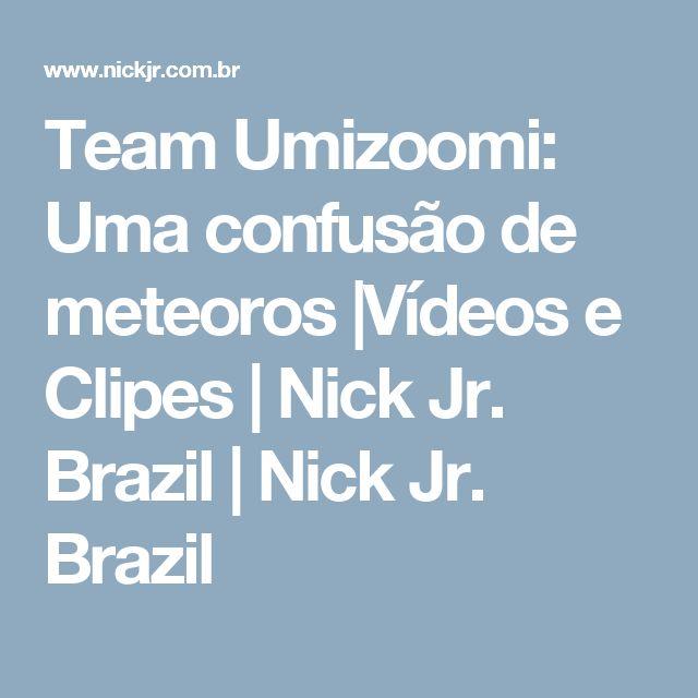 Team Umizoomi: Uma confusão de meteoros |Vídeos e Clipes | Nick Jr. Brazil | Nick Jr. Brazil