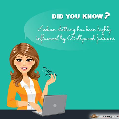 Did you know the facts of Indian Clothing? #Shopping #Woman #Classyplus #DidYouKnow https://www.classyplus.com/