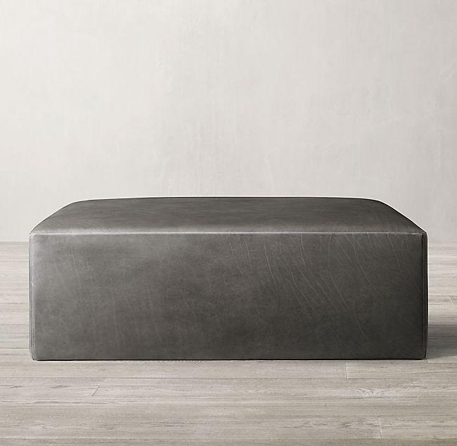 Tablet Lichen Gray Rectangular Ottoman Furniture All Modern Furniture Modern Ottoman