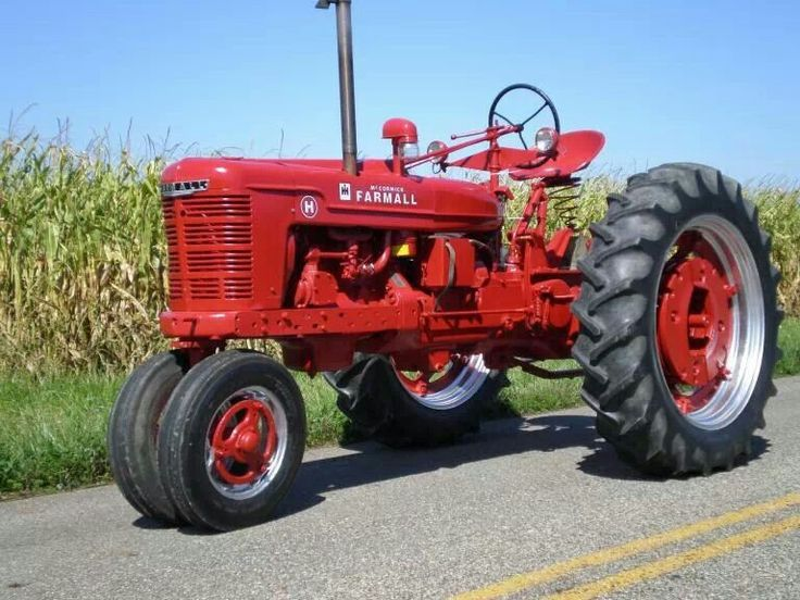 Farmall was a model name and later a brand name for tractors manufactured by International Harvester (IH). Description from tractorek.info. I searched for this on bing.com/images