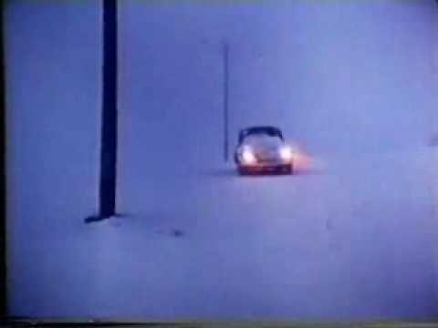 famous vw beetle snow plow commercial...