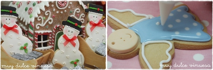 Galletas navideñas: Galleta Muy, Mercedes Garcia, Very Sweet, Cookie, Vinuesa Galletas, Dulce Vinuesa, Decorated Cookies, Vinuesa, Garcia