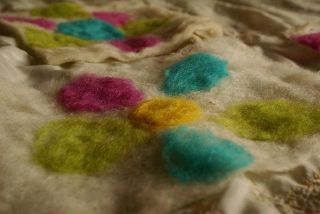 Felting Wool - Flowers