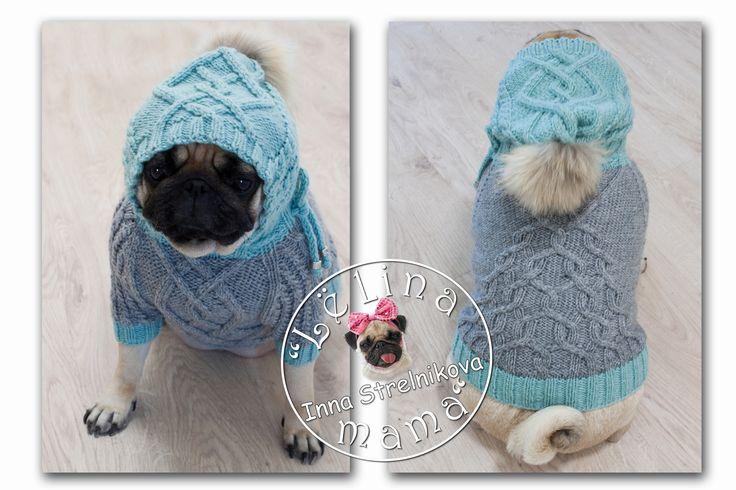 Sold the sweater on a pug #араны #handmade #хендмейд #pug #pugs #carlino #mops #мопс #ручнаяработа #вязание #вязаниесобакам #назаказ #собаки #dog #вяжудлясобак #вязанаяодеждадлясобак #вязаниесобакам #одеждаживотным #одеждадлясобак #dogfashion #dog #crochet #lelina_mama #livemaster #mysolutionforlife #dogsweater #instadog #dogsofinstagram #ажур #вяжу #хочув_mir_handmade #явяжу