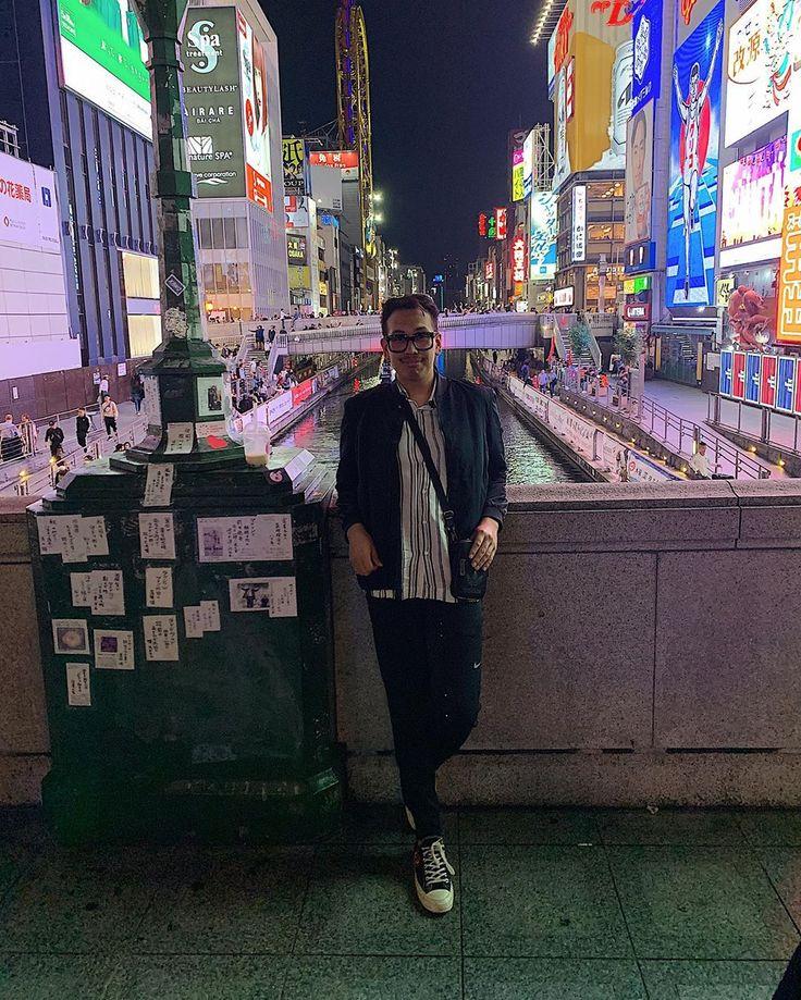 Night out in Osaka #Dotonbori #Osaka #Japan #Trave…