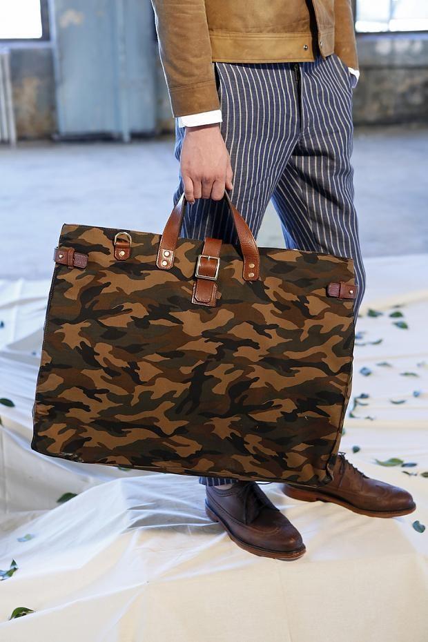 Ernest Alexander Men's S/S '14 camouflage bag