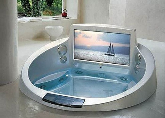 Luxury Jacuzzi Tubs Design Ideas With Entertainment Media For Hot Tub Prices Home