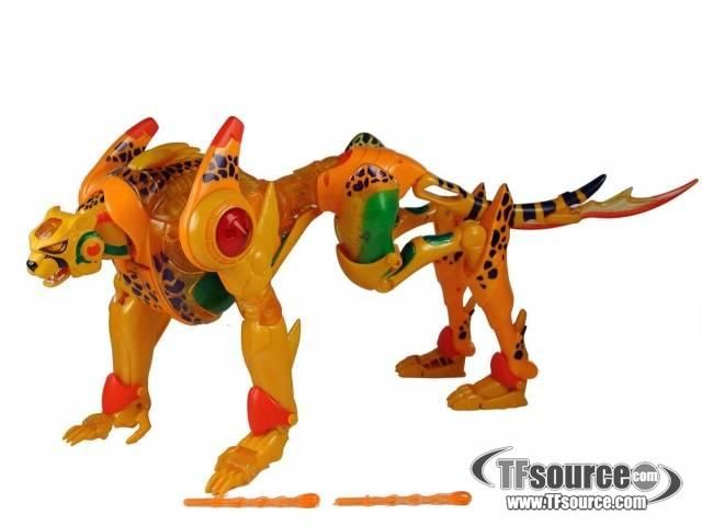 Beast Machines - Supreme Cheetor -  by Hasbro #transformer