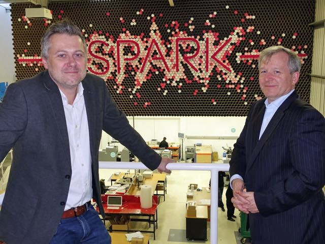 NEWS: @ThisisProCo unveils @ProCoSpark innovation centre to educate customers, staff & suppliers about print