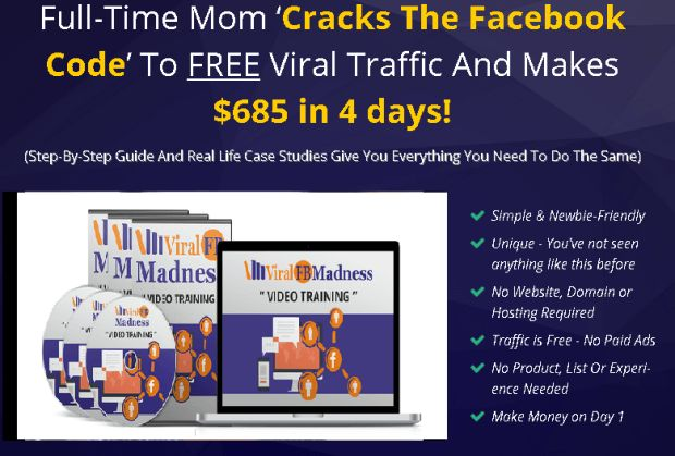 Viral FB Madness Training Formula by Ivana Bosnjak is Best Facebook Marketing Formula & Course To Get Quickest Way To Go Viral On Facebook Without Paying A Single Penny For Traffic And Course Reveal How Full-Time Mom Accidentally Makes $685 In 4 Days Posting On Facebook With Step-By-Step Guide And Real Life Case Studies Give You Everything You Need To Do The Same #FacebookMarketing #Training #FacebookLive #Academy #Marketing #FormulaFacebook