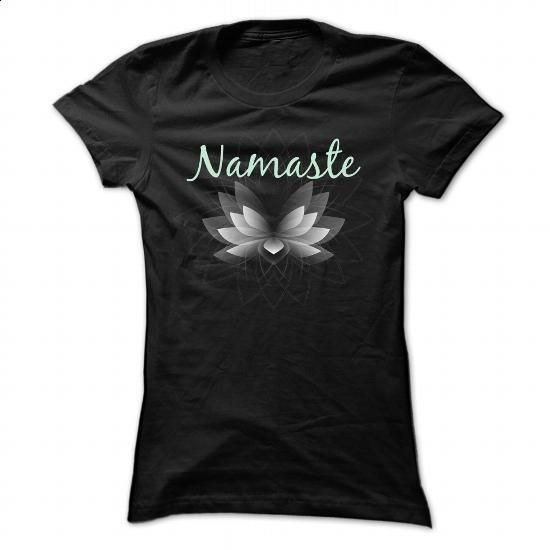 NAMASTE - #T-Shirts #t shirt designer. PURCHASE NOW => https://www.sunfrog.com/Fitness/NAMASTE-81239576-Ladies.html?60505