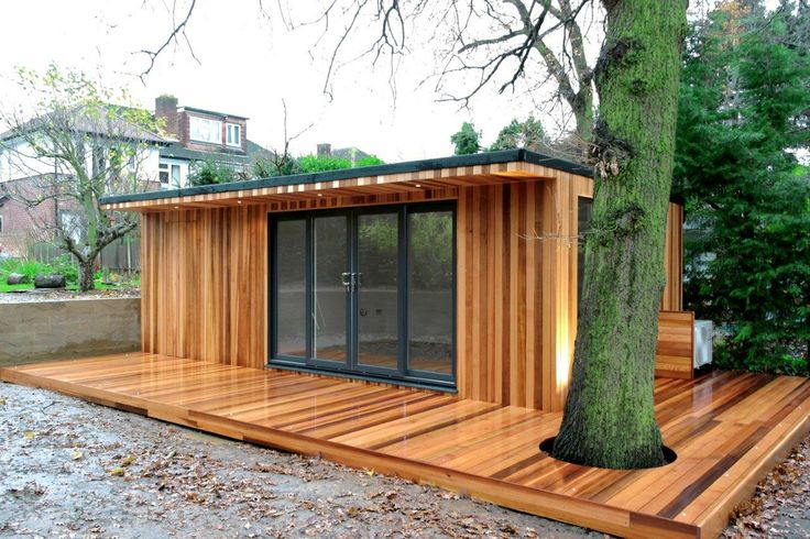 A 7m x garden room with concealed storage in thames for Garden room 7m x 5m