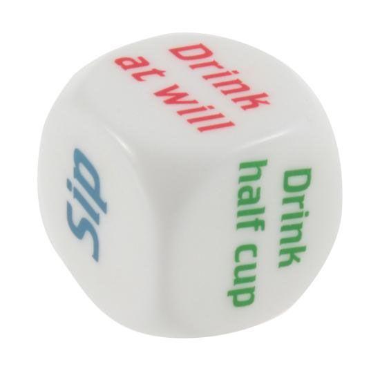 """Etkö osaa päättää vetääkkö kunnon kännit vai ei? Vai tympiikö kavereiden kiva lautapeli-ilta? Tämä noppa tuo boostia bileisiin! Jokainen heittää vuorollaan isokokoista noppaa, ja tekee kuten noppa osoittaa. Pahin vaihtoehto on tietenkin """"No Drink"""" osuma, ja paras lienee """"Drink 2 Cups""""! Pahimmassa tapauksessa voit pelata tätä yksinkin… eli peli sopii yhdestä tuhanteen pelaajalle. Noppa mahtuu …"""