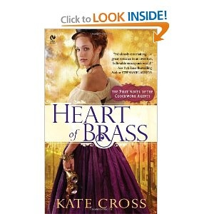 Heart of Brass: A Novel of the Clockwork Agents: Kate Cross: 9780451236593: Amazon.com: Books