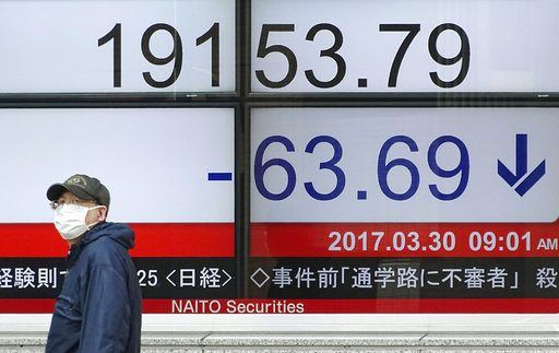 HONG KONG/March 30, 2017 (AP)(STL.News) — Asian stock markets fell Thursday, led by a slide in Chinese shares on investor concerns about liquidity. European indexes edged higher as concerns waned over Britain's formal request to leave the European ...