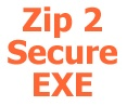 """ZIP 2 Secure EXE"" is a utility program that creates self-extracting EXE files for Windows 95,98,Me,NT4,2000,XP,Vista,Server 2003,Server 2008, etc... Self-extracting EXE files are executable programs (EXEs) that contain a ZIP file and the software necessary to unzip the contents. Users can unzip the contents of a self-extracting EXE simply by running it like any other program. No other software is needed."