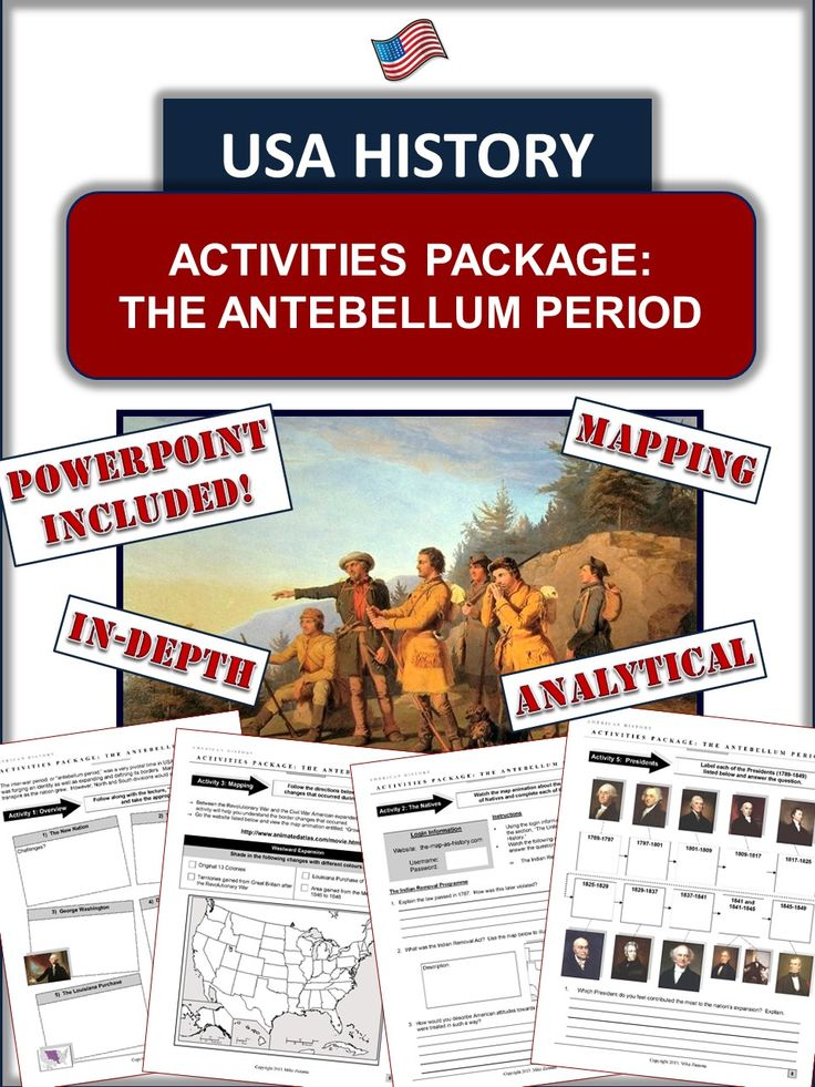antebellum period in america essay Geiger has chosen this baker's dozen of essays to show the dynamism and  diversity  traditionally the late antebellum period has been seen as an apex in  the.