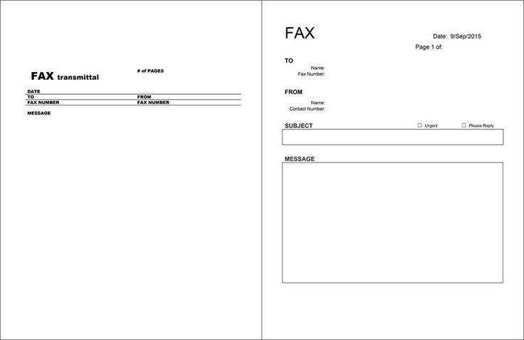 Free Fax Cover Sheet Templates Fax Cover Sheet Template