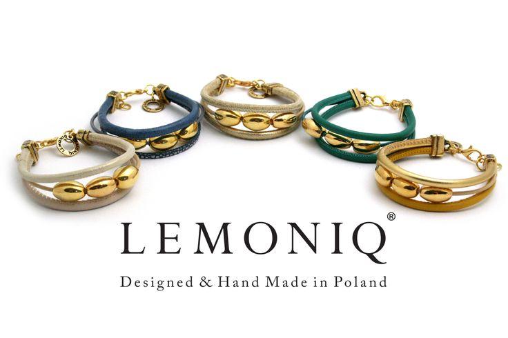 Piękne bransoletki Lemoniq w różnych kolorach dostępne w Salonach Terpiłowski
