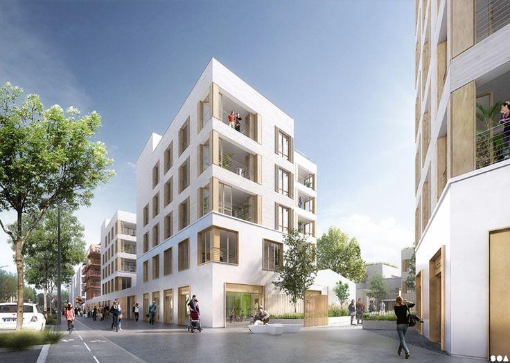 SOA Architectes Paris > Projets > ZAC VILMORIN, lot B2A