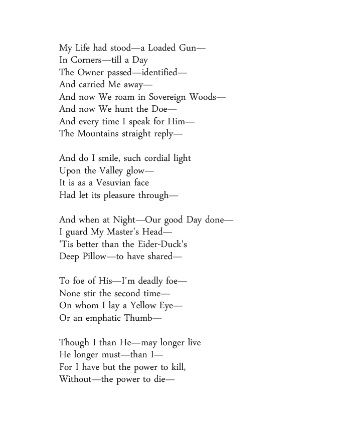 an analysis of the poem 465 by emily dickinson I heard a fly buzz—when i died is the informal name for an untitled poem by american author emily dickinson in the poem on 465 (i heard a fly buzz.