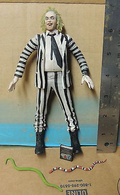 "Beetlejuice NECA Cult Classics 7"" action figure / doll,  Michael Keaton Series 7 Tim Burton"