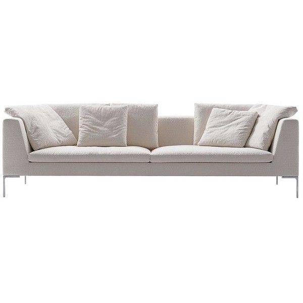Charles Large Sofa by Antonio Citterio for B&B Italia ❤ liked on Polyvore featuring home, furniture, sofas, b&b italia sofa, b&b italia, b&b italia furniture and systems furniture