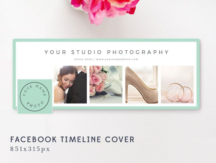 Facebook Timeline Cover Template - Facebook Cover Template for Photographers - By Stephanie Design