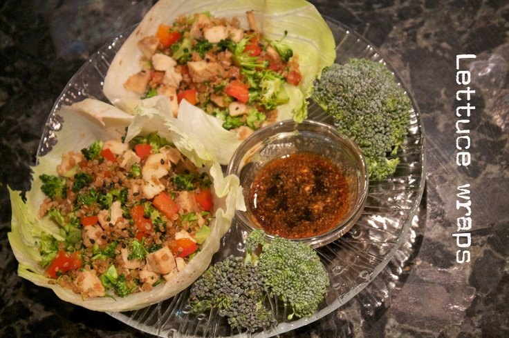 Stir-Fried Chicken In Lettuce Cups Recipes — Dishmaps