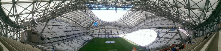 Stade Vélodrome – StadiumDB.com  Capacity	67 394 1,263 (in 80 skyboxes) (VIP seats) 371 (Disabled seats) 18,851 (Tribune Jean Bouin) 22,321 (Tribune Ganay) 12,937 (Virage Sud) 12,947 (Virage Nord) Country	France City	Marseille Clubs	Olympique de Marseille Inauguration	13/06/1937 (Olympique Marseille - FC Torino, 2-1) Construction	25/04/1935 - 05/1937 Renovations	1971, 1983, 1997-1998, 2011-2014 Record attendance	61,846 (Olympique Marseille - FC Toulouse, 19/10/2014) Cost	€268 million…